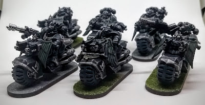 GWpertinent and MORE: Ravenwing Squad 1 + Techmarine