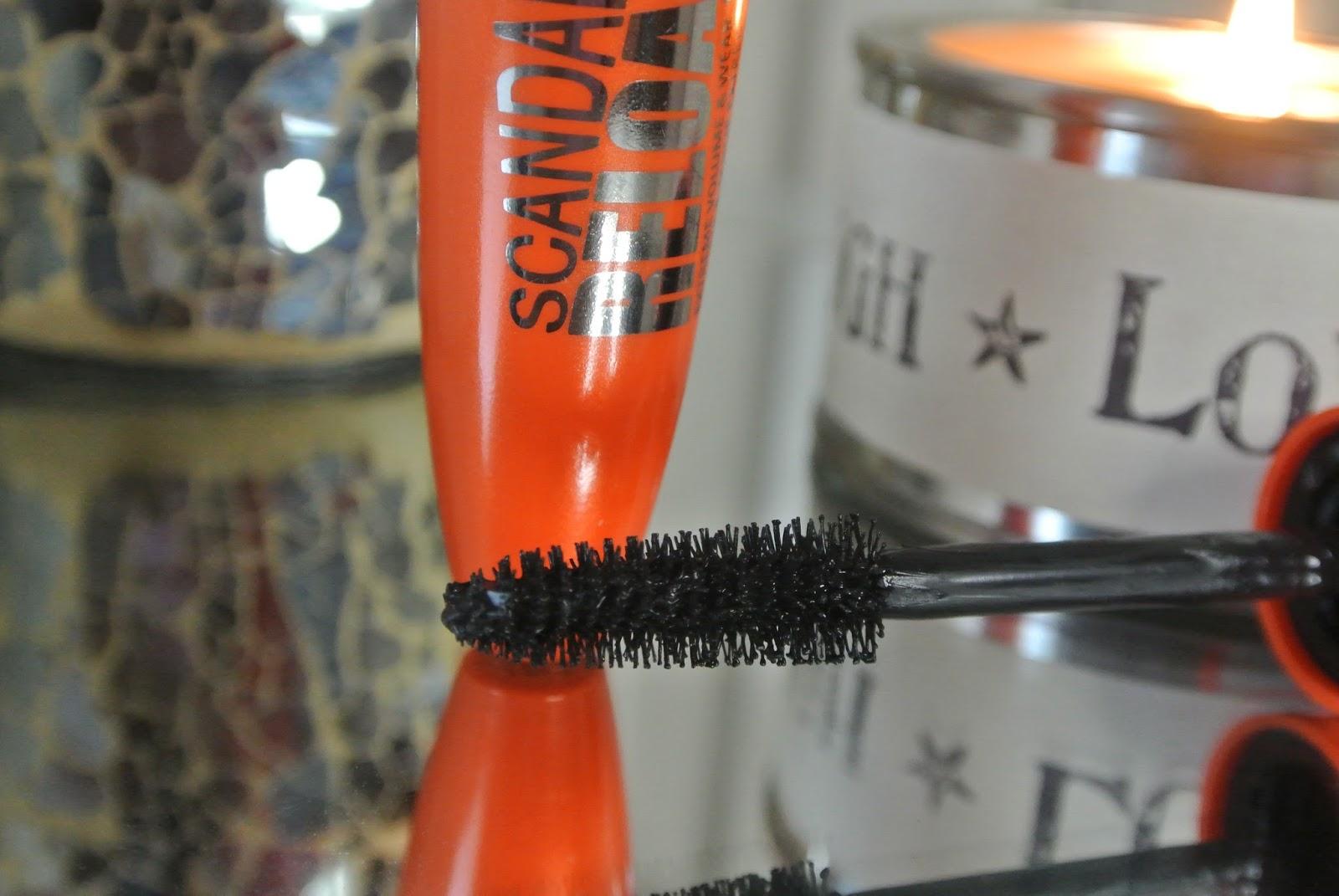 Rimmel Scandaleyes Reloaded Mascara in Black Image
