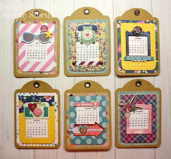 So Fancy Desk Calendar Simple Stories - make photo calendar