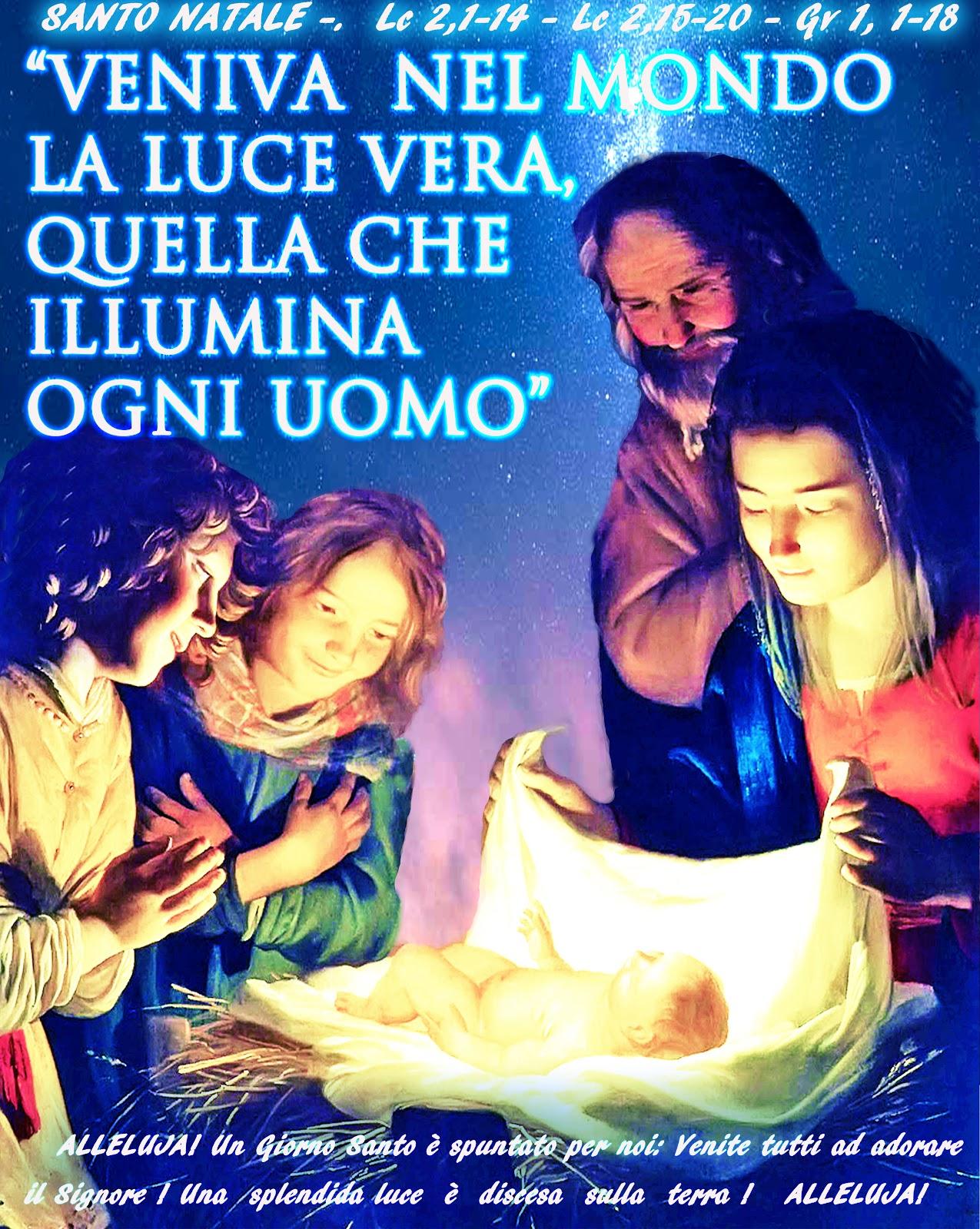 Immagini Santo Natale.Parola Anno Liturgico C Santo Natale
