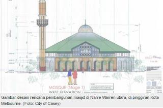 Muslim City of Casey Berjuang Membangun Masjid