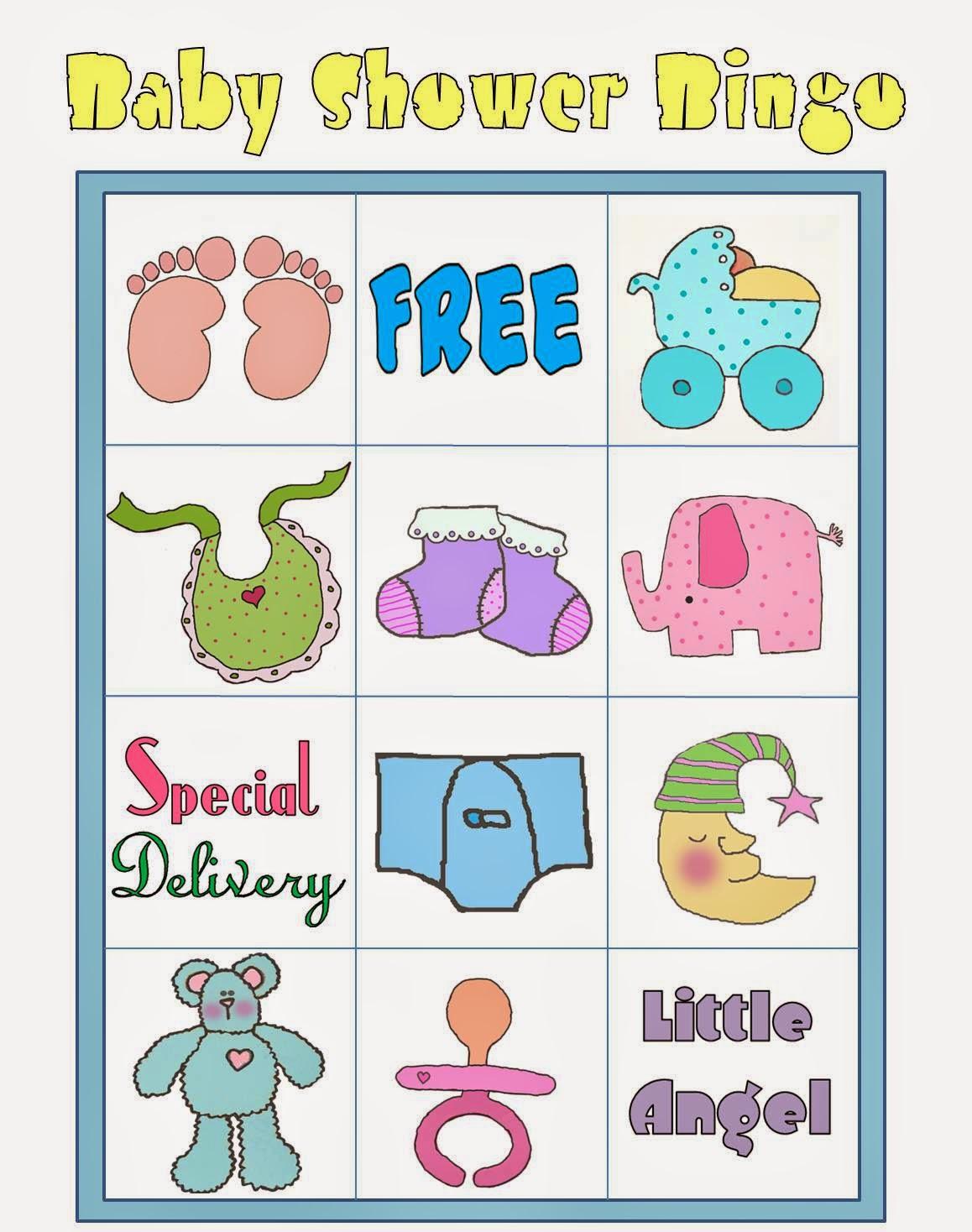 Bingo En Colores Para Baby Shower Para Imprimir Gratis Oh My Bebe