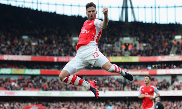 Olivier Giroud Arsenal PSG Ligue des Champions