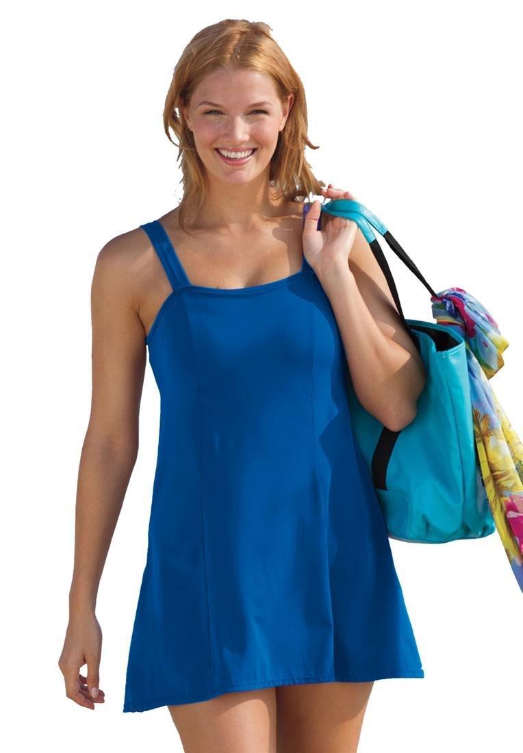 Plus Size Fashion Swimsuit Plus Size Slimming Swimdress