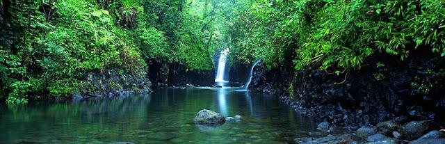 Fiji Waterfall, Taveuni - Fiji