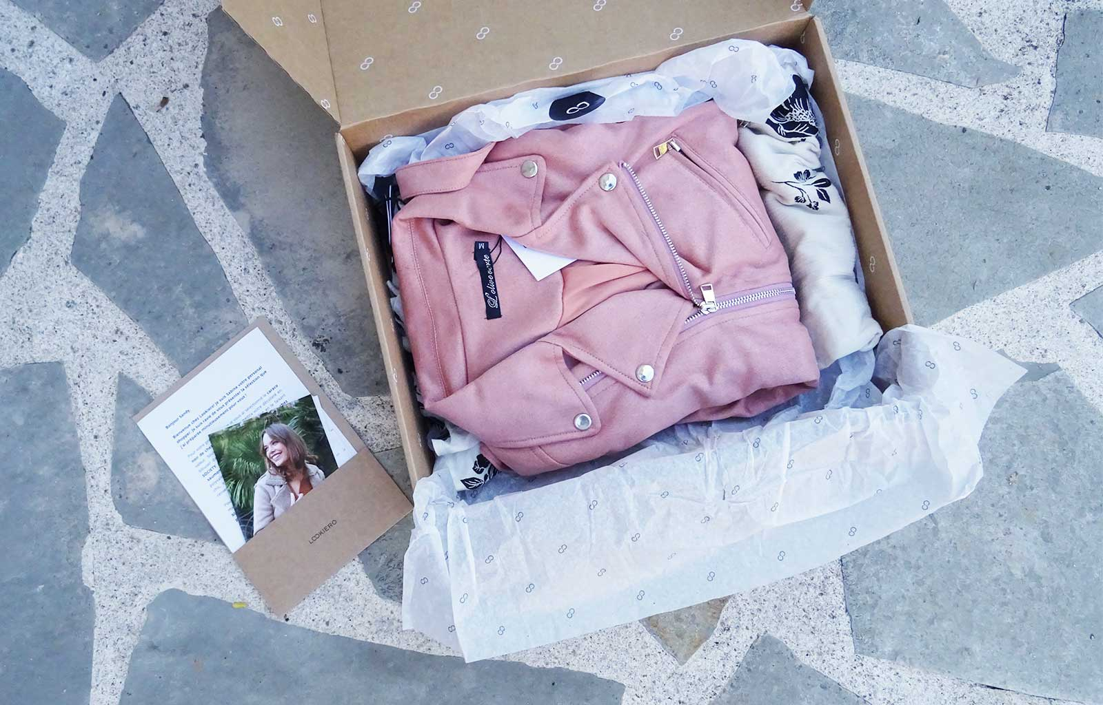 box Lookiero, personal shopper en ligne