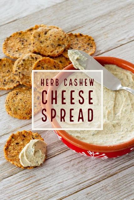 Herb Cashew Cheese Spread