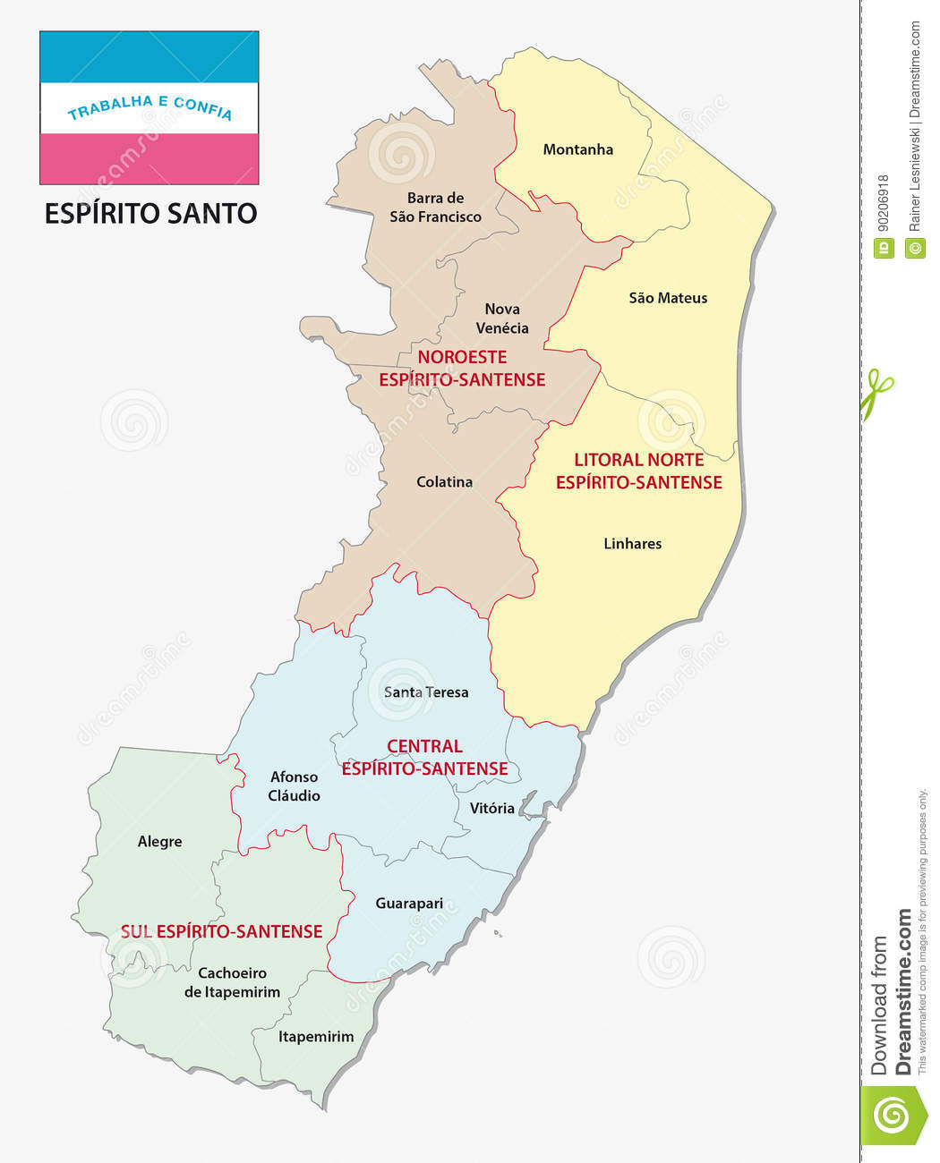 Mapas do Espírito Santo