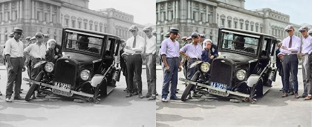 كيفية تلوين صورك القديمة التي كانت باللون الأبيض و الأسود بنقرة واحدة