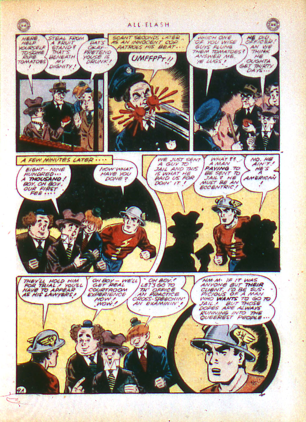 Read online All-Flash comic -  Issue #16 - 11