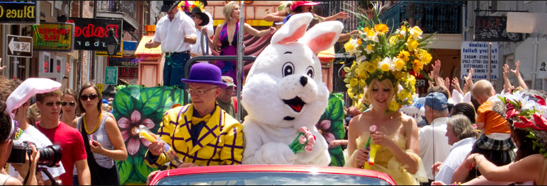 Easter Parade in New Orleans