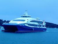 turistička brzobrodska sezonska linija SPLIT - BRAČ (MILNA) - HVAR - KORČULA - MLJET - DUBROVNIK slike otok Brač Online