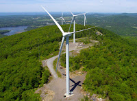The Georgia Mountain Community Wind project in Georgia, Vermont. (Credit: Georgia Mountain Community Wind) Click to Enlarge.