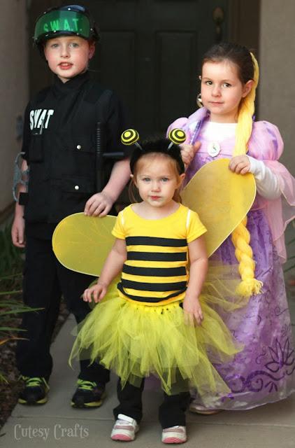 disfraz abeja para niña