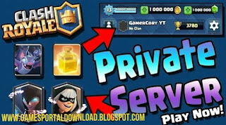 Download Latest Clash Royale Apk Private Server