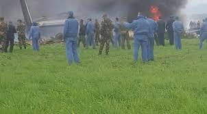 تحطم طائرة عسكرية قرب القاعدة الجوية لبوفاريك