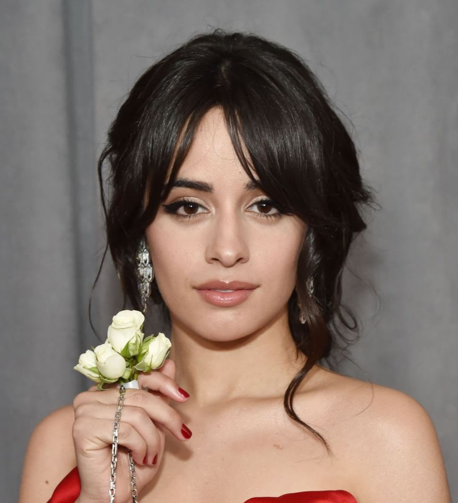 Cuban Singer Camila Cabello At Grammy 2018 awards In New York