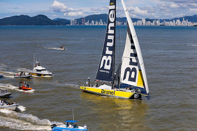 Itajaï : Brunel remporte l'étape de la Volvo Ocean Race