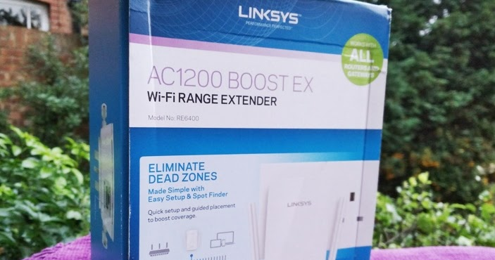 Gadget Explained: LINKSYS RE6400 AC1200 BOOST EX Ethernet