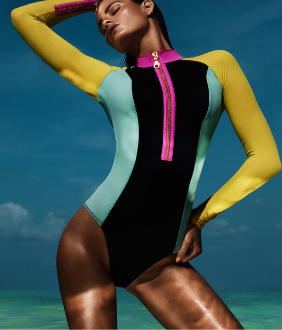 Trendsfor 2014 Neon Swim Wear Neon Swimsuits Neon