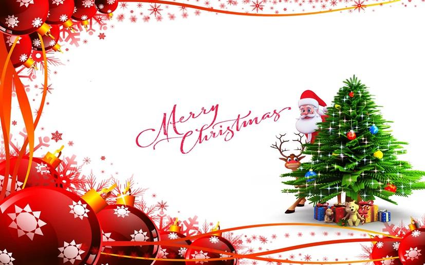 Cute Santa Greeting Card