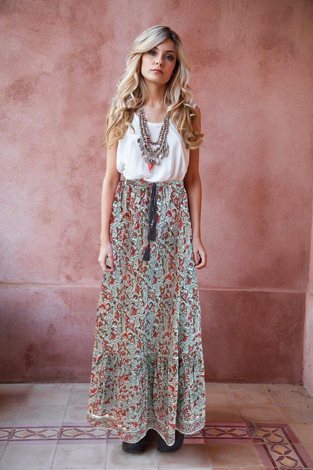 Faldas de moda primavera verano 2019 ropa de mujer.