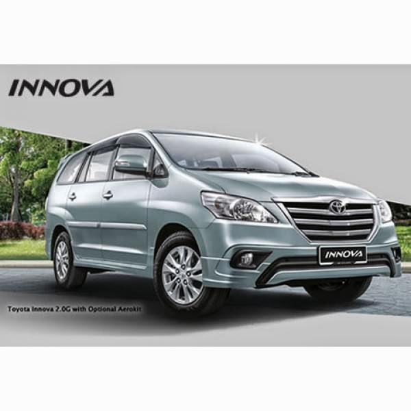 Body Kit Toyota Innova TRD 13-14