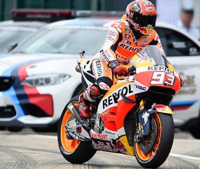 Marquez Bakal Pakai Senjata Baru Repsol Honda Jika Cuaca Mendukung