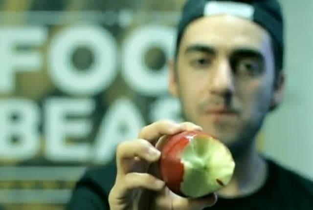 cara makan apel