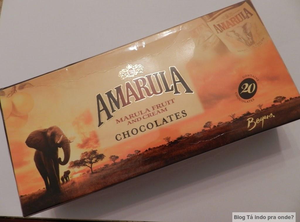 chocolate recheado com amarula