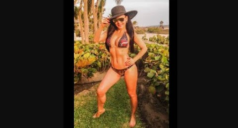 Maribel Guardia estupenda a sus 56