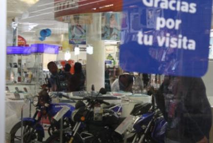 Venta de motos en tienda de Ecatepec