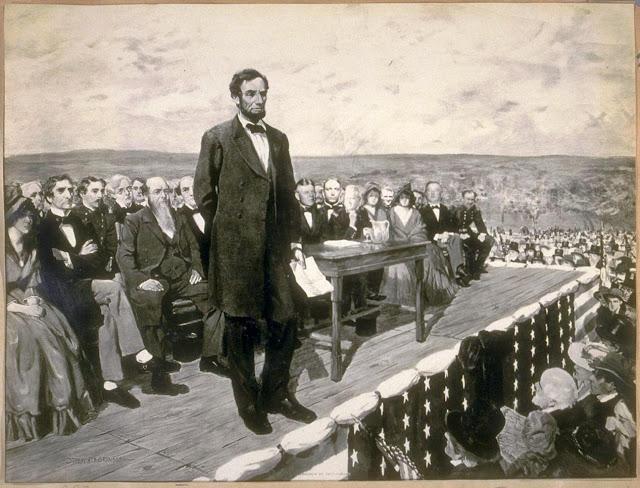 Авраам Линкольн в Геттисберге. Lincoln at Gettysburg