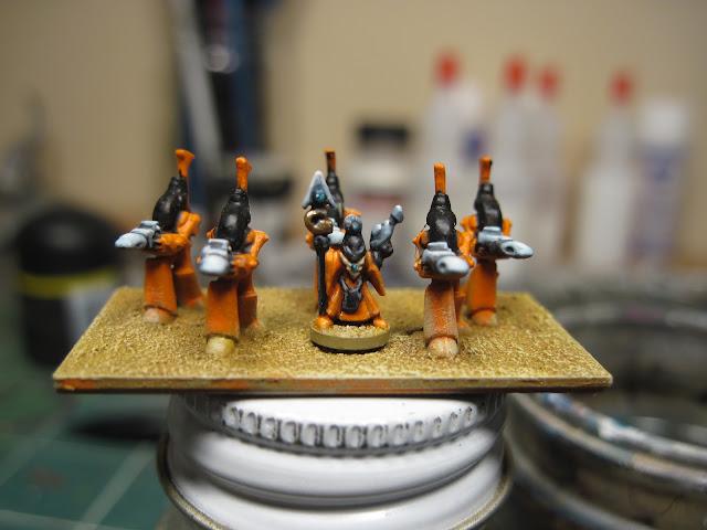 Epic Eldar Wraithguard with Farseer