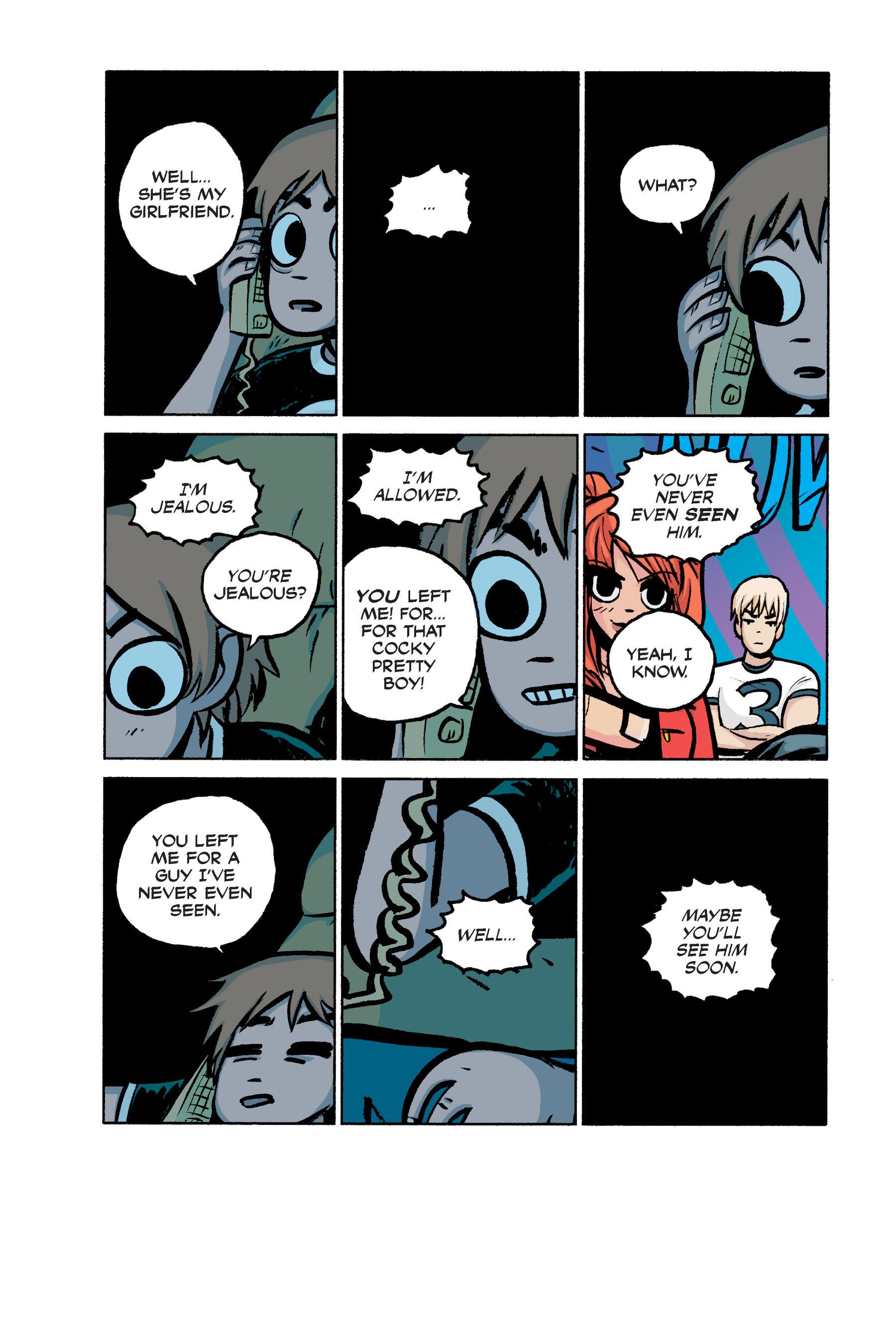 Read online Scott Pilgrim comic -  Issue #2 - 153
