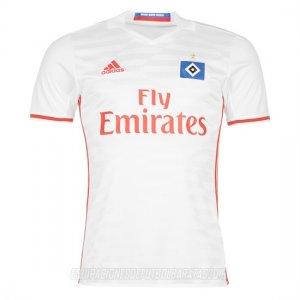 Completando el diseño de la nueva camiseta del Hamburger 16-17 es un falso  collar de polo 71a3c42eab78e