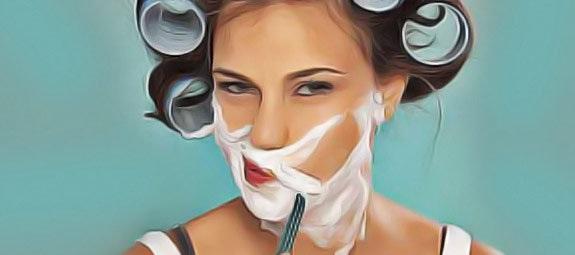 Éliminer les poils du visage
