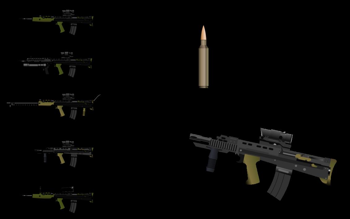D Krintanx Enfield Sa 80 L85a1 And L85a2 Assault Rifle