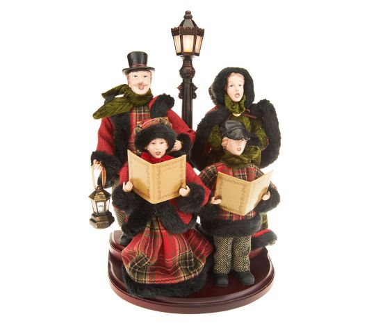 Christmas Carolers Yard Decorations: Qvc Outdoor Christmas Decorations