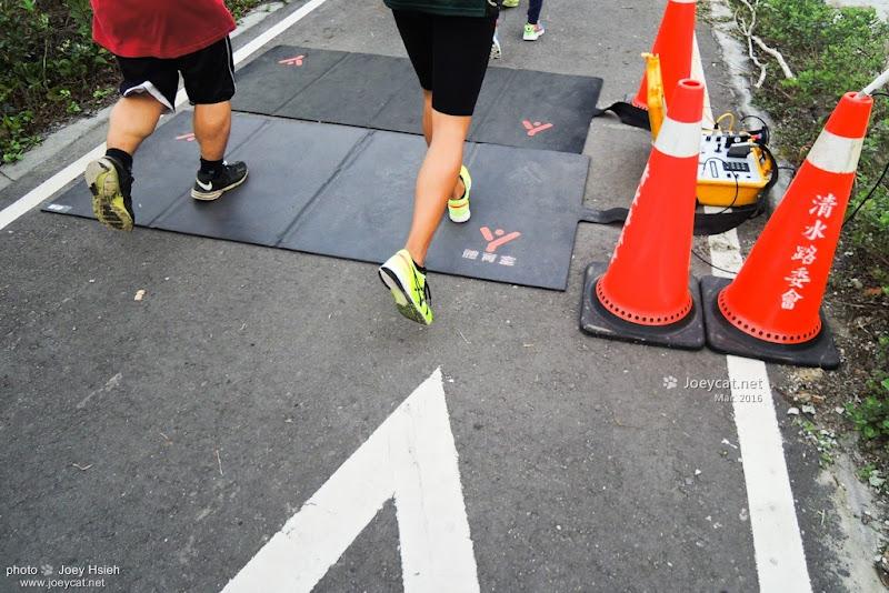 電子感應點 英雄馬拉松 台中港