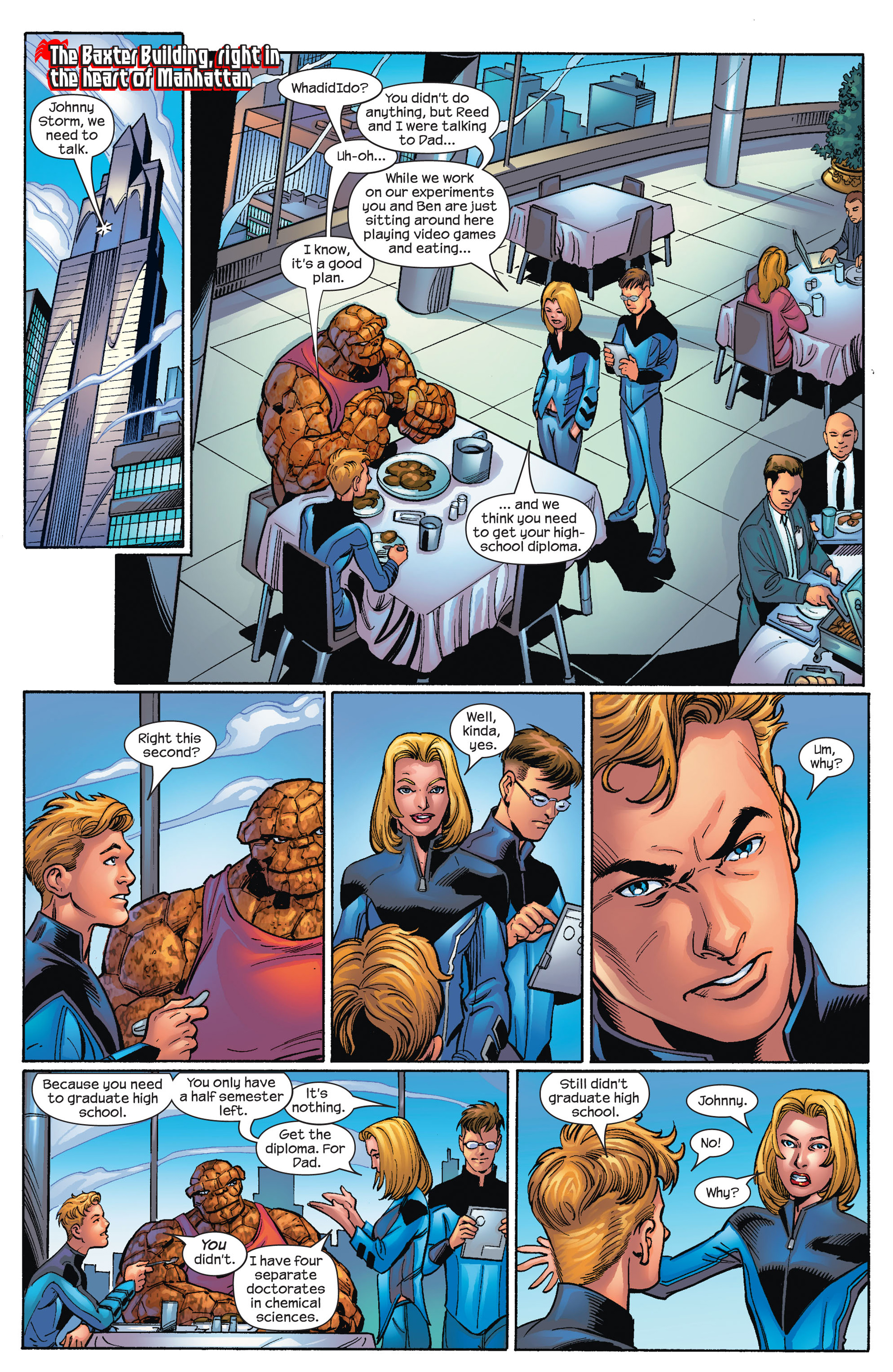 Read online Ultimate Spider-Man (2000) comic -  Issue #68 - 3