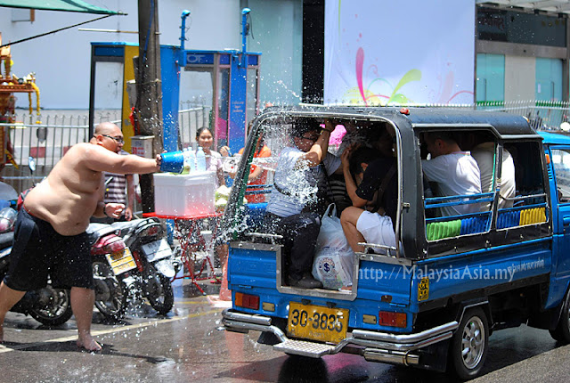 Photos of Songkran