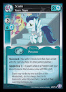 My Little Pony Soarin, Team Player The Crystal Games CCG Card