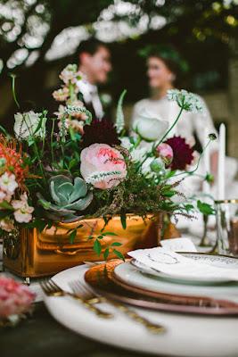 decoration de mariage : theme champêtre