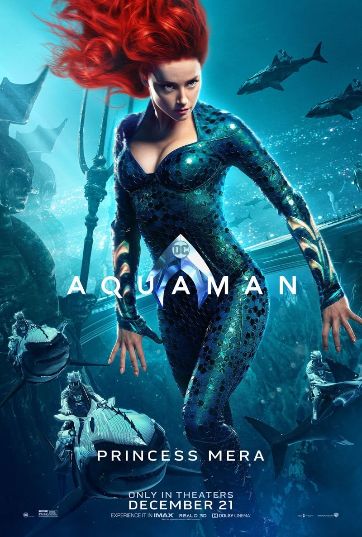 amber heard at the world premiere of aquaman コミックヒーロー映画