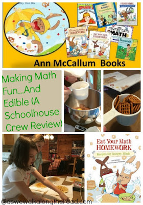 Teaching math concepts with hands-on recipes