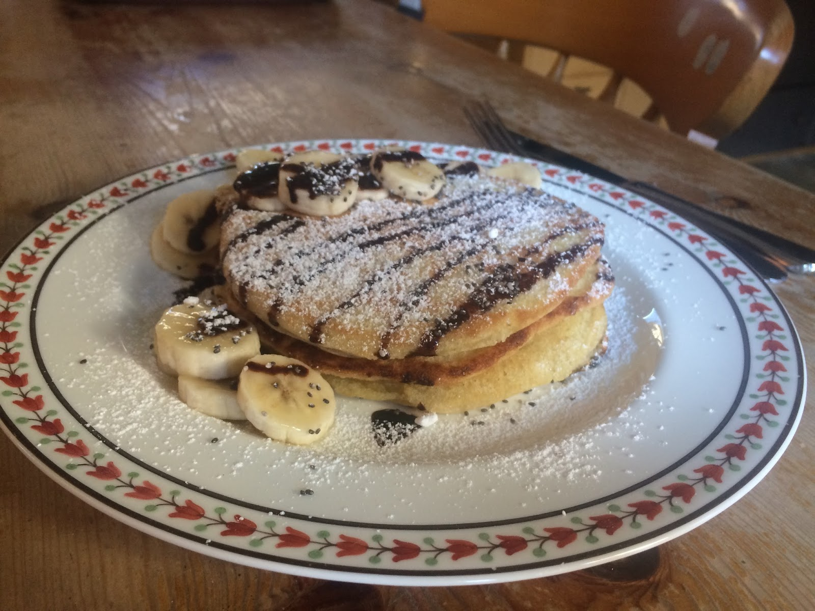 Vegan American Style Pancakes