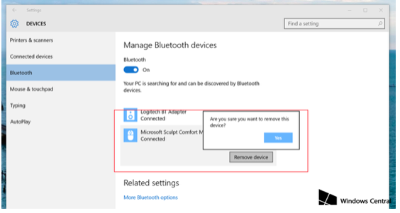 FIX CONNECTIONS TO BLUETOOTH AUDIO DEVICES