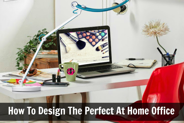 How To Design The Perfect At Home Office  by barbies beauty bits