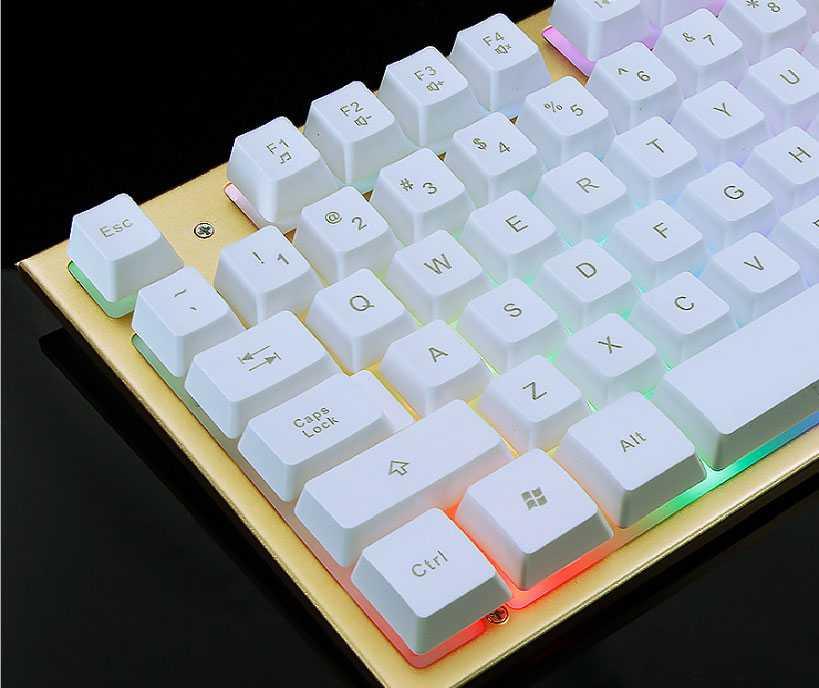 Bàn phím giả cơ đế nhôm chuyên game LIMEME TX30